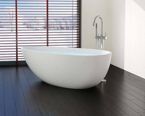 freestanding bathtub bw-03 with chrome freestanding tub filler