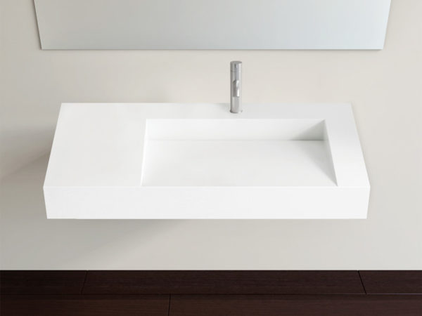 Wall Mounted Sink WT-04-B (Right Side)