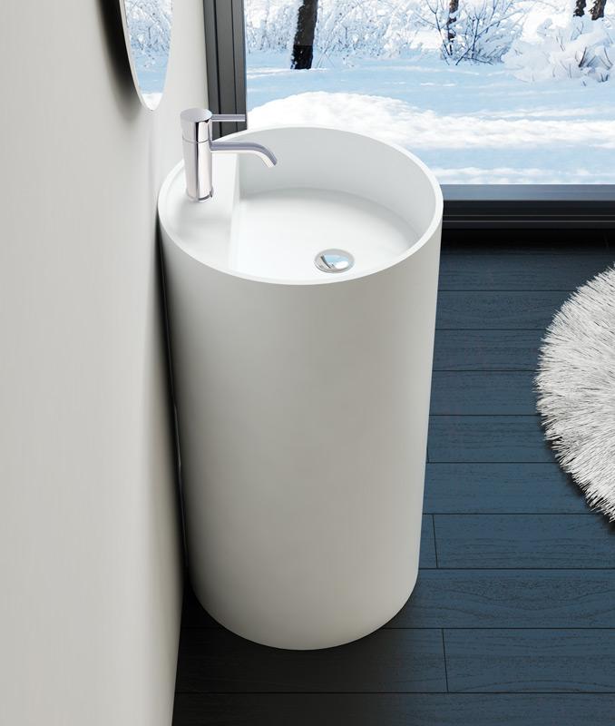 freestanding sink sb 03 a badeloft. Black Bedroom Furniture Sets. Home Design Ideas