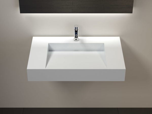 Wall Mounted Sink Wt 04 D