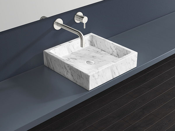 small marble sink