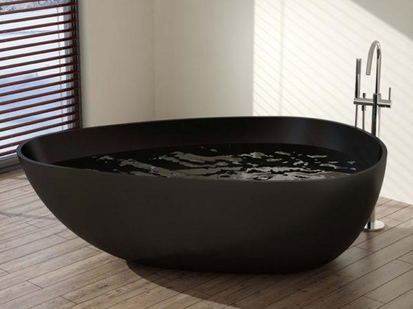Extra Large Black Bathtub