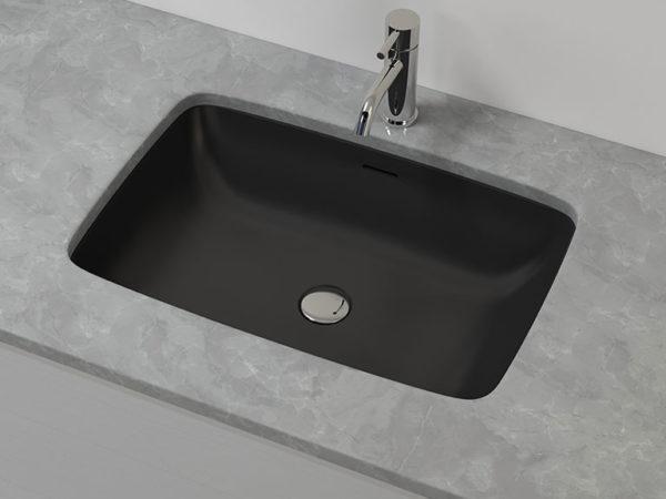 Black Undermount Sink
