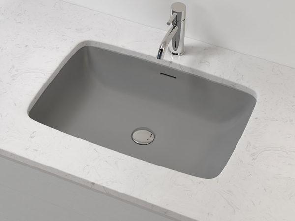 Gray Undermount Sink